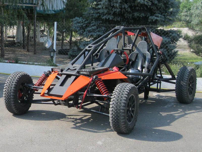 Drawings of the buggy «Raptor 1500»